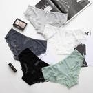 促銷 透明無痕蕾絲內褲女誘惑網紗透視低腰三角女士內褲純棉襠