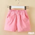 童裝夏裝女童薄款短褲夏季新款中大童褲子純棉兒童外穿熱褲潮 店慶降價