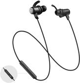 【日本代購】SoundPEATS Q35HD 藍牙耳機高音質 低音 14 小時連續重播- 黑色