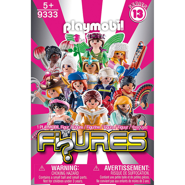 特價 playmobil 人偶包13系列 女生(多款式隨機出貨) PM10281