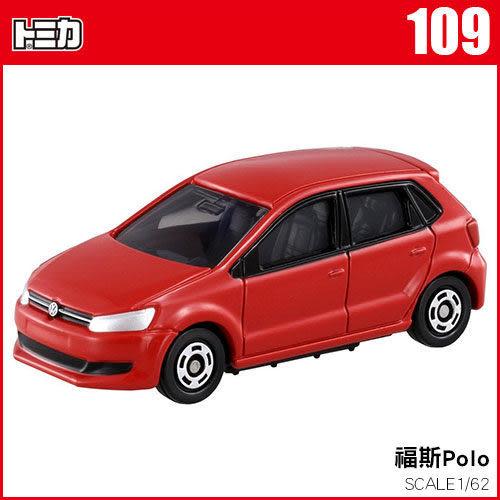 TOMICA 多美小汽車 NO.109 福斯Polo / VOLKSWAGEN POLO《TAKARA TOMY》