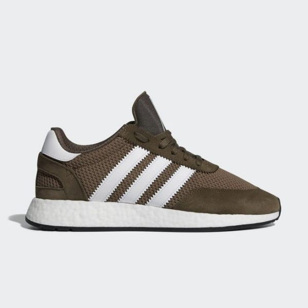 ISNEAKERS ADIDAS ORIGINALS I-5923 墨綠 咖啡 復古 BOOST底 慢跑鞋 男鞋 D97211