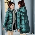 棉服2020年新款女爆款韓版寬鬆免洗亮面羽絨棉衣中長款冬裝外套襖