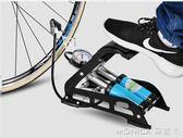 腳踩打氣筒高壓便攜式籃球自行車電動車摩托車汽車充氣泵  莫妮卡小屋