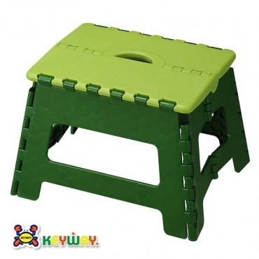 KEYWAY 中百合止滑摺合椅 綠色款 RC-822 34x27.2x22.9cm