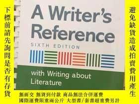 二手書博民逛書店A罕見Writers Reference With Writin