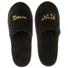 Bonne Nuit 舒樂系列 拖鞋 (黑色) (26、28cm適合女性) 2種size