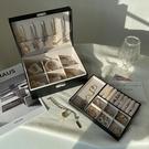 奢華ins風歐式大容量多層首飾盒耳環耳釘項錬耳飾高檔帶鎖收納盒 設計師