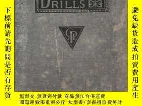二手書博民逛書店《Shorthand罕見Dictation Drills》葛瑞格速記 格雷格速記 速記訓練 1917年32開硬精裝
