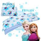 冰雪奇緣 夢幻魔法 藍 兒童睡袋 鋪棉冬夏兩用 台灣製 超取限一顆 伊尚厚生活美學