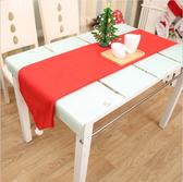 聖誕裝飾品 聖誕桌旗 聖誕桌巾 聖誕無紡布桌旗 聖誕餐桌裝飾─預購CH2406