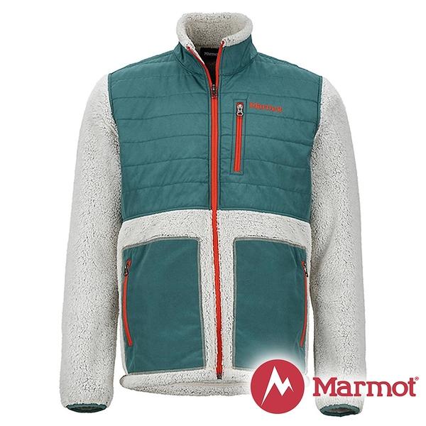 【Marmot】男 Mesa 纖維保暖外套『湖水綠』43950 戶外 休閒 登山 露營 保暖 禦寒 防風 夾克