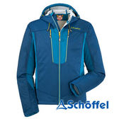 德國 SCHOFFEL 男 防風抗雪 保暖連帽外套 藍 2021284