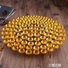 108盞酥油燈座蓮花燈架子蠟燭燭台佛供燈佛具佛教用品『艾麗花園』