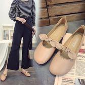 豆豆鞋    新款復古奶奶鞋淺口平底單鞋軟底女鞋平跟豆豆鞋
