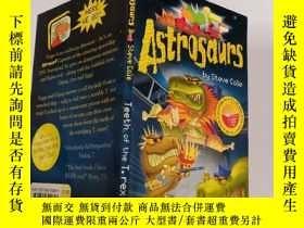 二手書博民逛書店astrosaurs罕見teeth of the T.rex 霸王龍的牙Y200392