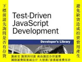 二手書博民逛書店Test-driven罕見Javascript DevelopmentY256260 Christian Jo
