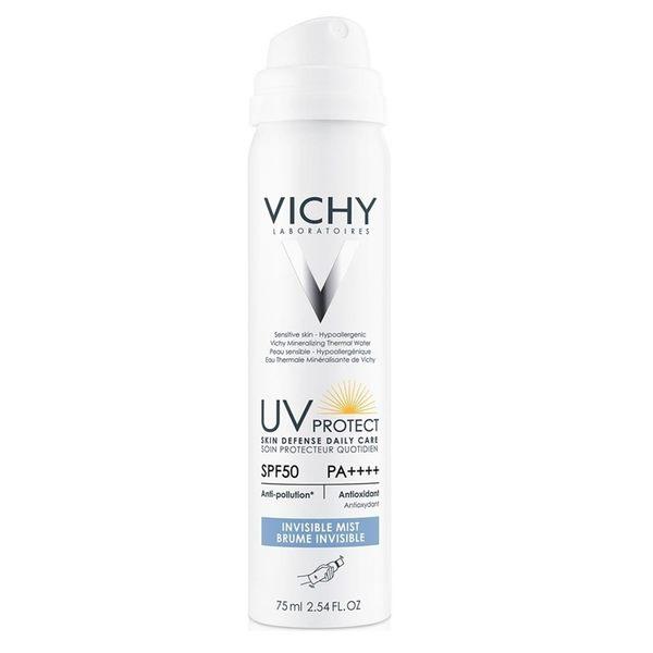 Vichy薇姿 極效水感防曬噴霧SPF50 PA++++ 75ml ◆86小舖 ◆