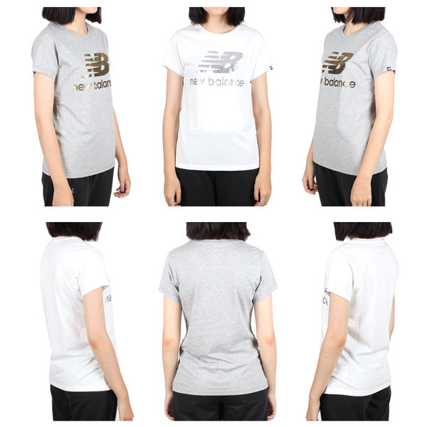 NEW BALANCE 女短袖T恤(短T 慢跑 路跑 NB 免運 ≡排汗專家≡