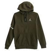 Nike AS JUMPMAN AIR FLEECE FZ  連帽外套 AH6241396 男 健身 透氣 運動 休閒 新款 流行