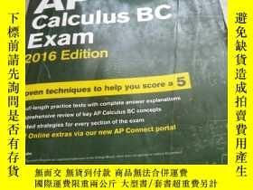 二手書博民逛書店Cracking罕見the AP Calculus BC Exam, 2016 EditionY241950