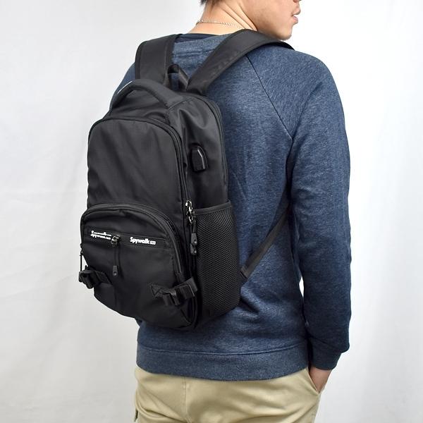 後背包 休閒實用USB電腦包NZB37