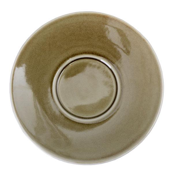 【Luzerne】陸升瓷器 Oyster 16cm 盤(B)-綠色 /OT1493016
