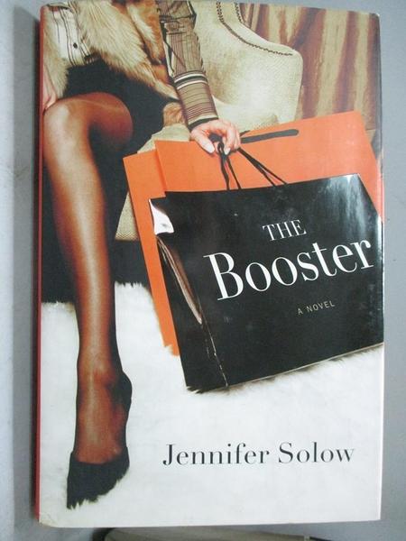 【書寶二手書T6/原文小說_J4P】The Booster_Solow, Jennifer