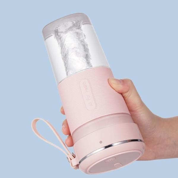果汁機家用小型便捷式網紅水果榨汁杯迷你充電果汁機學生 優拓