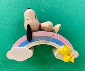 【震撼精品百貨】史奴比_Peanuts SNOOPY~史努比 SNOOPY 木頭磁鐵~彩虹#23853
