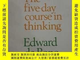 二手書博民逛書店The罕見Five-day Course in Thinking
