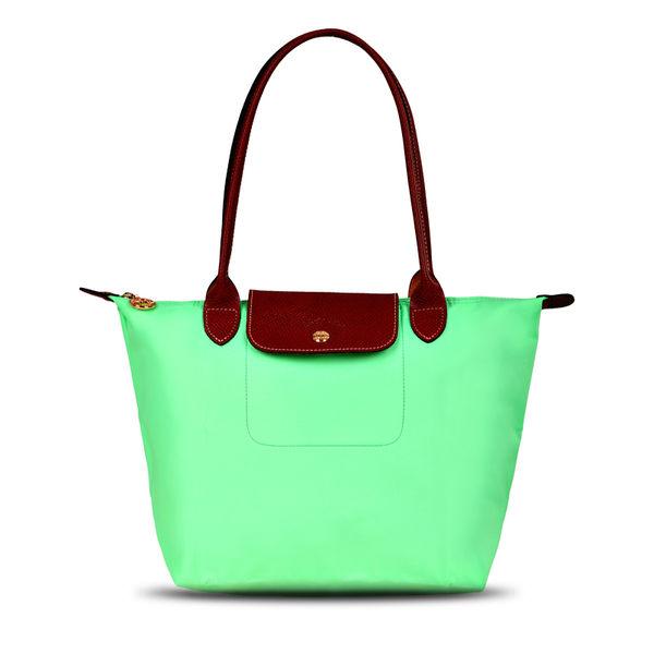 【清倉特價.售完不補】Longchamp 2605 新品女性包時尚潮流可折疊水餃包中號長柄餃子包