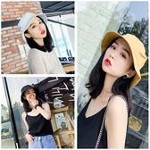(全館一件免運)DE SHOP~(SH-1244)帽子‧素面棉質可折韓系造型‧漁夫帽遮陽帽盆帽