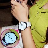 韓版女士時尚手錶創意皮帶防水簡約學生電子錶SMY1269【123休閒館】
