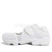 Nike Wmns Air Rift Br [848386-100] 女鞋 運動 休閒 忍者鞋 魔鬼氈 舒適 涼鞋 白