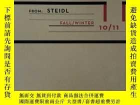 二手書博民逛書店steidl出版的圖錄畫冊罕見fall winter 10 11