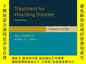 二手書博民逛書店Treatment罕見For Hoarding Disorder: Therapist Guide (treatm
