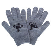 Vivienne Westwood 經典行星圖案毛線針織手套(藍灰色)910562