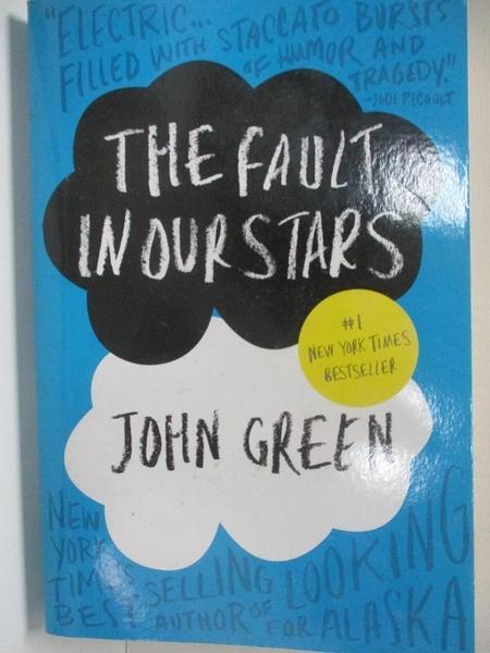 【書寶二手書T6/原文小說_AUF】The Fault in Our Stars_John Green