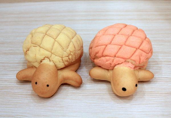樂禾烘焙 烏龜波羅麵包