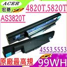 ACER 電池(原廠最高規)-AS10E76,3820T,4820T,5820TG TM6594,TM6594,TM6594G,4745G,AS10B6E,AS10B5E