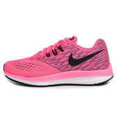 Nike Zoom Winflo 4 女 粉 運動鞋 慢跑鞋 網布鞋面 透氣 輕量 避震 Flywire技術 898485600
