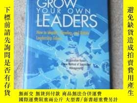 二手書博民逛書店Grow罕見Your Own Leaders: How to I
