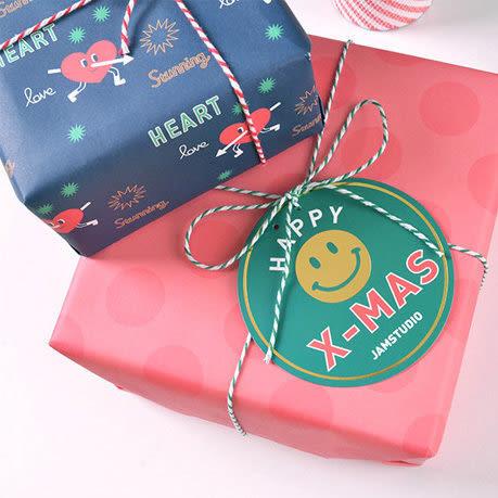 【發現。好貨】韓國聖誕派對旗幟 彩旗 卡通雪人 聖誕樹 派對佈置旗子 兒童房佈置