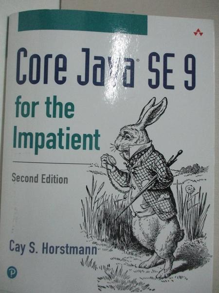 【書寶二手書T1/電腦_EKI】Core Java SE 9 for the Impatient_Horstmann, Cay S.