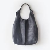 肩背包-真皮純色簡約休閒子母女手提包-4色73nf6【巴黎精品】