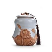 茶葉罐陶瓷哥窯汝罐存儲物罐