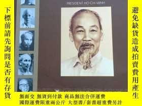 二手書博民逛書店president罕見ho chi minh (chu tich