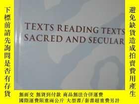 二手書博民逛書店Texts罕見Reading Texts, Sacred and