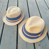新款母女親子款草帽夏季遮陽帽子男女童禮帽兒童太陽帽2-18韓版潮『櫻花小屋』